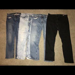 Old Navy Jean Lot (4 pair) 34x30